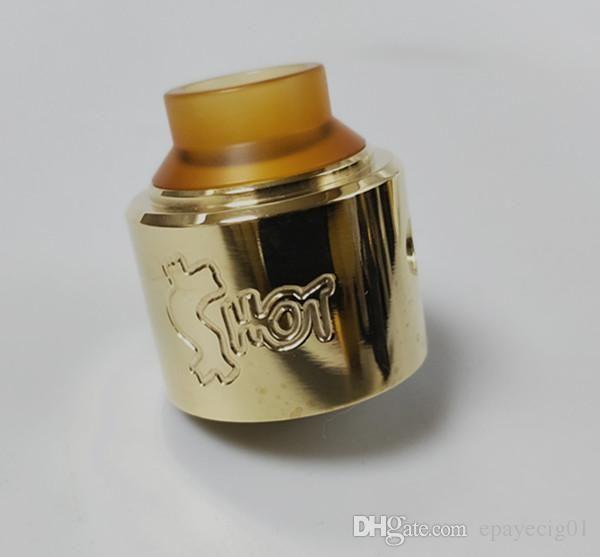 e spurgo sigaretta Soldi shot rda clone 30MM RDA con 5mm Deep Juice Wells per purge slam piece mod brass vape 2019 new