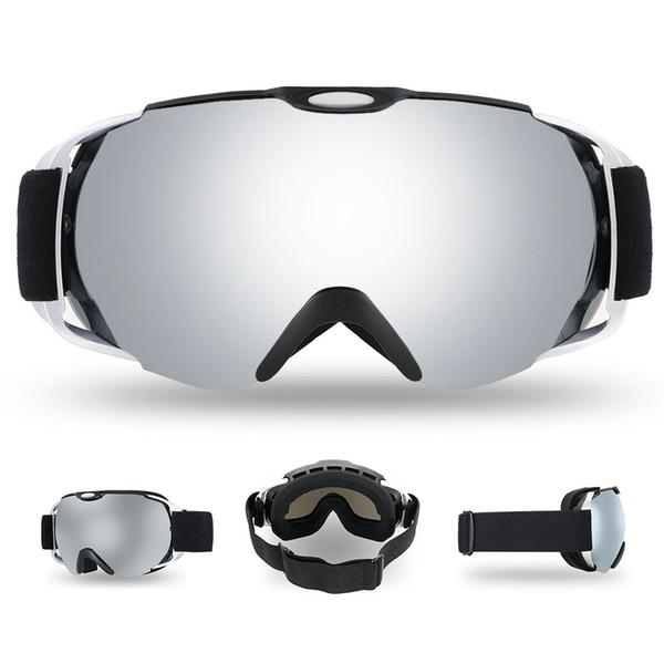 Lixada Adulto Óculos De Esqui Óculos de Neve de Inverno Esportes Snowboard Ventilado Anti-fog Esférica Dual Lens para Snowmobile