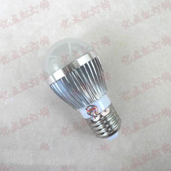 E27 3W الضوء الأبيض لمبة LED