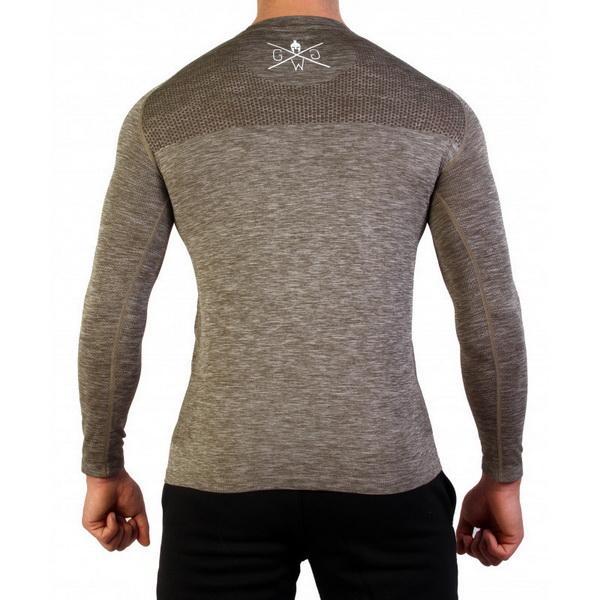 gym New pattern motion Fashion Printing Long Sleeve Men Leisure time Tidal burst European and American fashionable comfortable long sleeves