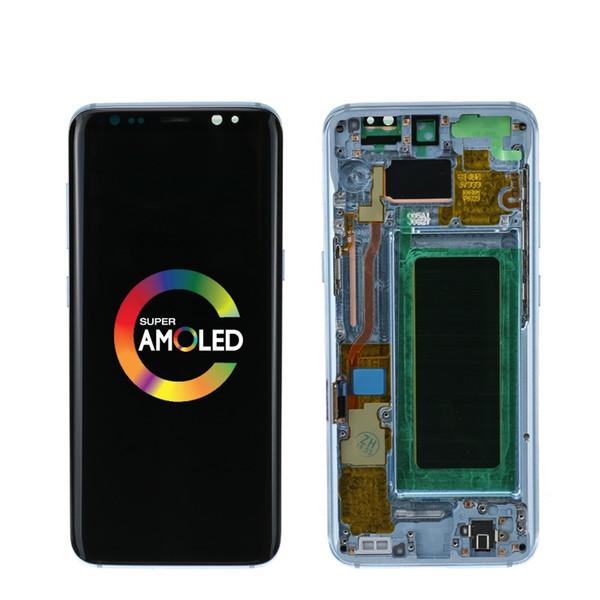 LCD originale per Samsung Galaxy S8 S8 più G950 G950F G955fd G955F G955 bruciare Display Ombra LCD con touch screen Digitize