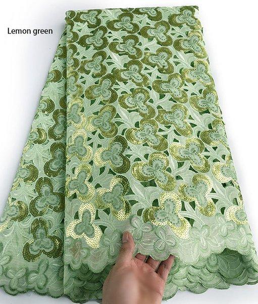 Color:lemon green