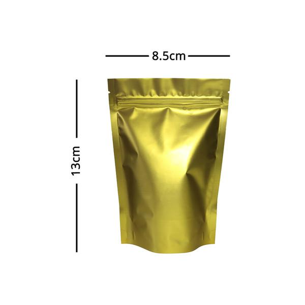 8.5x13cm Matte Ouro
