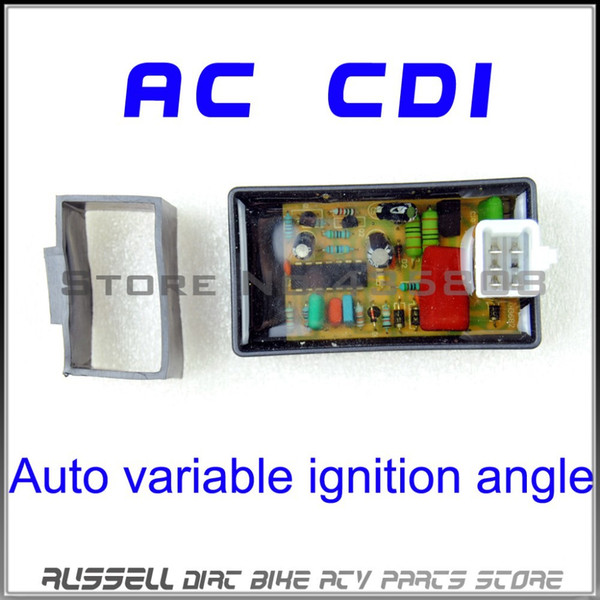 Ángulo de encendido variable automático de 5PIN AC CDI Box para Scooter Monkey Dirt BIke Go-Kart ATV DIO 50 Spree XR TGB Láser R5 R9 TGB