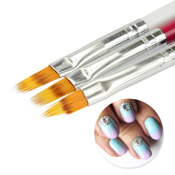 nail 1 PC Gradient UV Gel Nail Art Painting Brush DIY Beauty Decoration Manicure for Acrylic Polish Draw Ombre Color