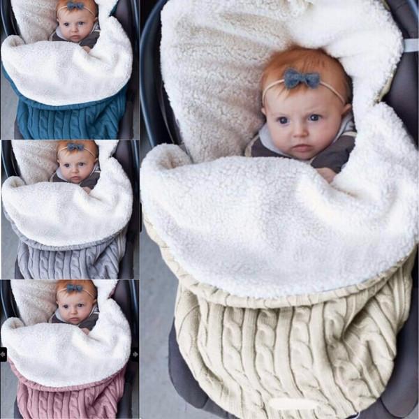 best selling Baby Blanket For Bedding Stroller Sleeping Bag Swaddle Wrap Manta Bebes Newborn 0-12 Months