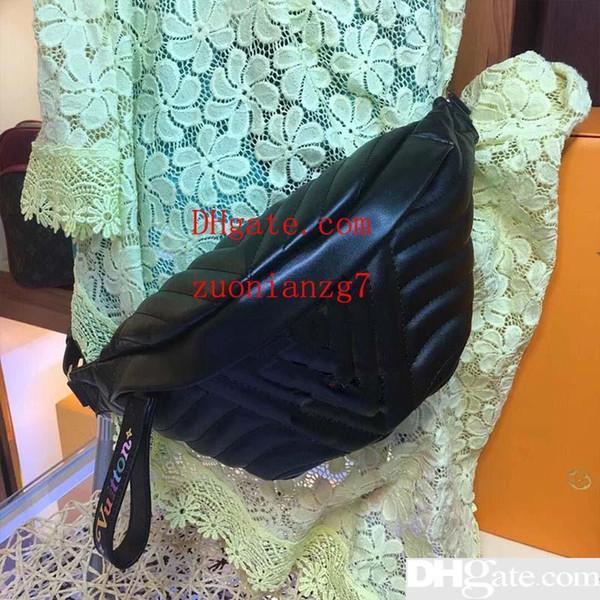 Designer Taschen Taille Handtasche Tasche Gürteltasche Designer Schulter Geldbörsen Gürtel echtes Leder Mode Handtasche Tasche