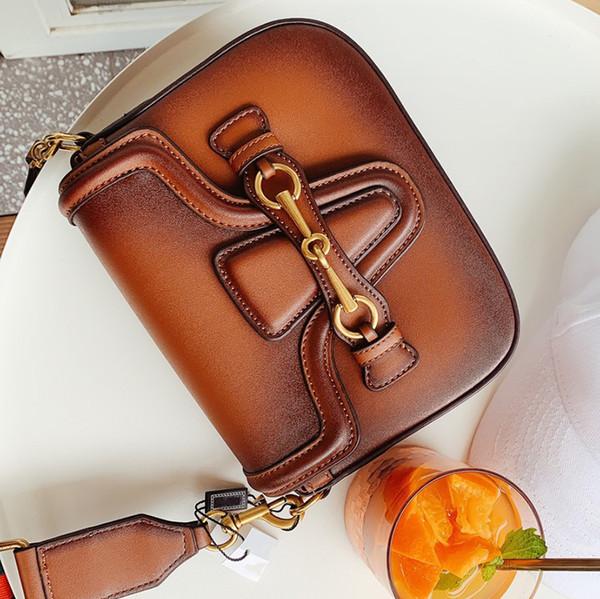 Классический Урожай седло мешок дизайнер Кроссбоди мешок дальнозоркостью дизайнер упаковки роскошные сумки кошельки лоскут сумки одиночные посыльного сумки