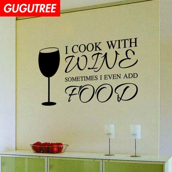 Decorate Home glass letter cartoon art wall sticker decoration Decals mural painting Removable Decor Wallpaper G-2002