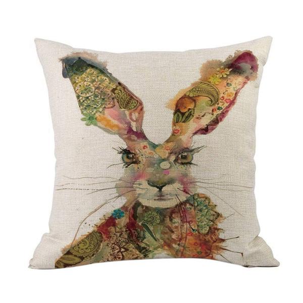45 cm x 45 cm de páscoa moderna roupa de cama home decor capa de almofada e sofá fronha início decorativo fronha