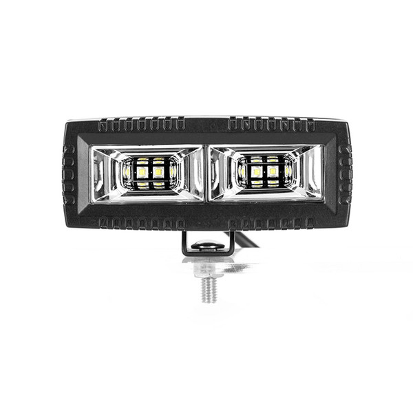 5 40w Led Work Light Bar Flush Mount Flood For Off Road Jeep Suv Pickup Boats Ip67 Waterproof And Durst Proof Outdoor Portable Light Outdoor Work