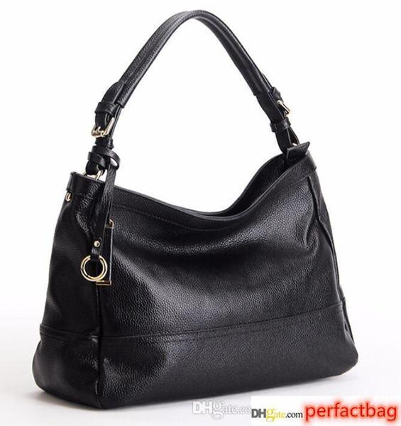 brand new high quality women European and american genuine leather lady real calfskin hobo luxury handbag tote bag purse y99