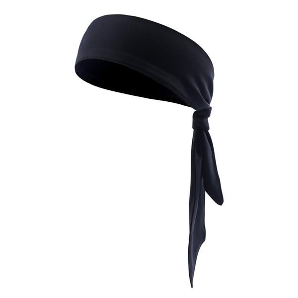 Sports Gym Headbands Mens Women Cycling Running Headband Yoga Bicycle Anti Sweatband Head Solid Stretchable Turban Bandanas TN #241885