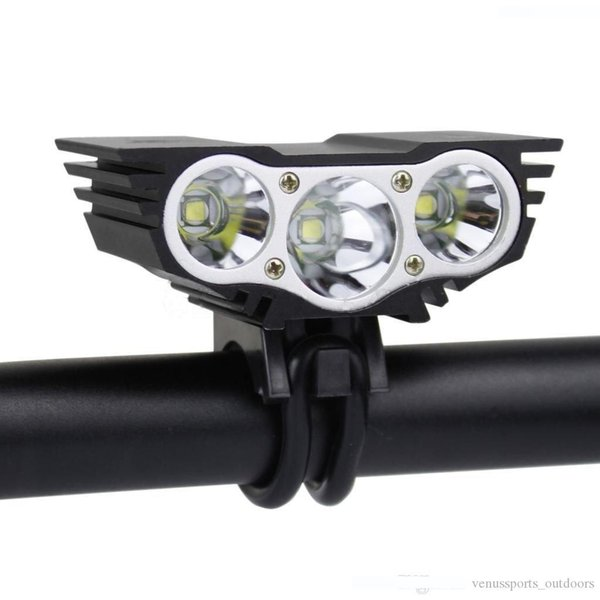 bike headlamp X3 waterproof mini Led Bicycle Light Headlight XM-L LED Bicycle Bike Light Headlight+Charger+Battery Pack 2500ML