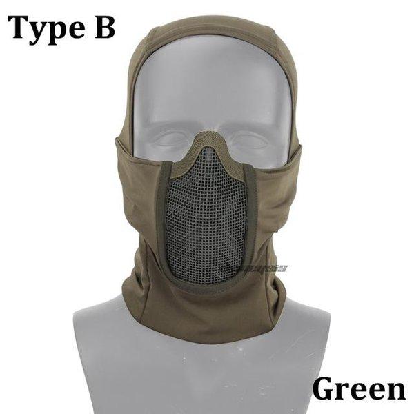 Yeşil tip B
