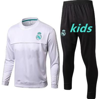 Kids Real Madrid soccer Tracksuit RONALDO ASENSIO training suit jacket 2017 2018 Real Madrid kid football tracksuit suits sportswear kit