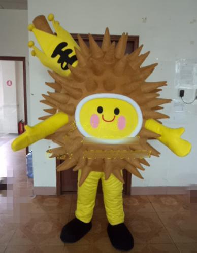 Yeni Süper Sıcak Meyve durian Maskot Kostüm Fantezi Elbise EPE