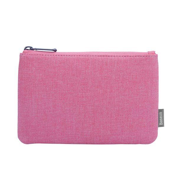 Baseus Taşınabilir telefon çantası Kart Cebi 5.5 inç telefonu çanta iphone 7 için artı samsung s8 için Basit Depolama paketi çanta kılıf