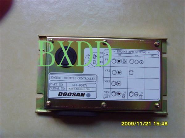 Controlador del acelerador del motor de excavadora Doosan daewoo DH220-5 543-00074 54300074