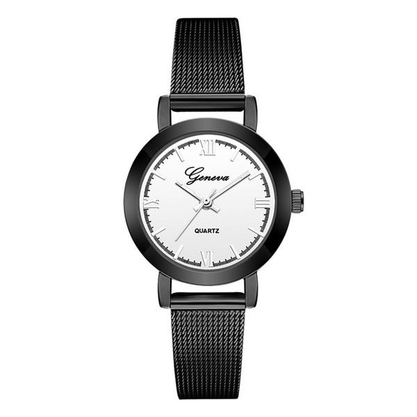 Watch Women Wrist Quartz Luxury Stainless Steel Analog Bracelet Charm Watches Gift bayan kol saati A2