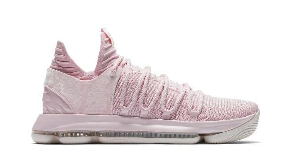 Top Quality kd 10 Aunt Pearl shoes for sale kevin durant men basketball shoes store free shipping AQ4110-600