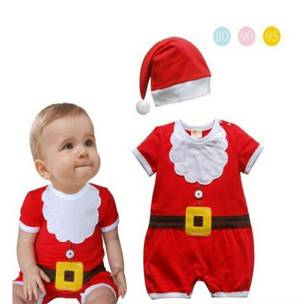 JP-036 Retail baby christmas rompers newborn boy girls romper infant clothing baby clothes baby new year costumes for