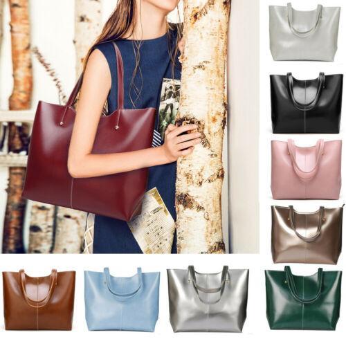 Moda Vintage Mulheres PU Leder Schulter Saco Do Mensageiro Tote Handtasche Handtasche Crossbody