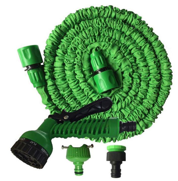 best selling 2019 Expandable Garden Hose Flexible Garden Water Hose 50FT for Car Hose Pipe Watering Irrigation With Spray Gun 15M with retail package