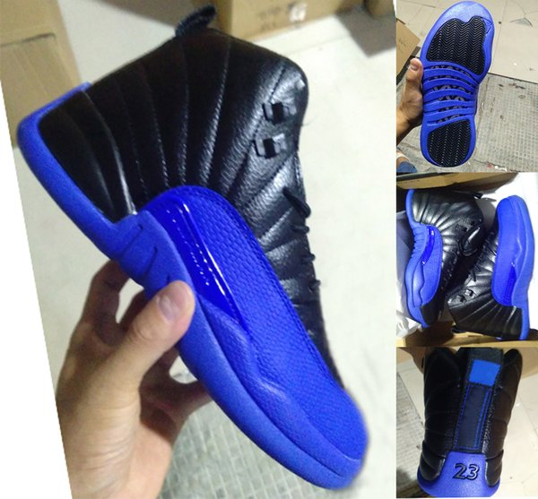 2019 2019 Hot Sale 12s Men Basketball Shoes 12 Game Royal Blue French Blue Dark Sneakers 130690 014 With Box From Airjordan1shop 96 49 Dhgate Com