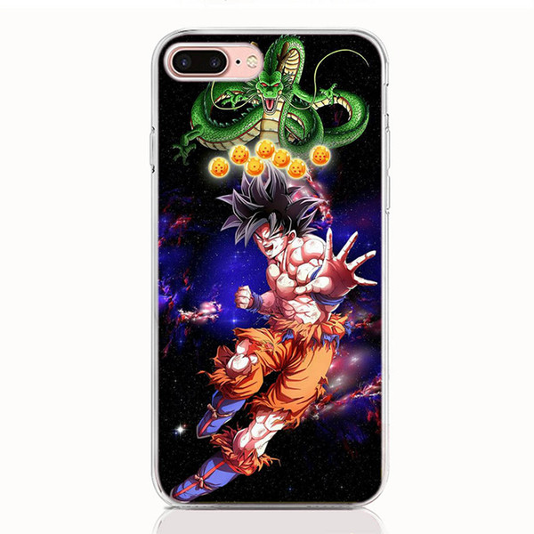 For LG Stylo 4 3 V40 V30 V20 Mini G7 G6 G5 G6 Mini Q6 Q7 Q8 ThinQ case Soft TPU Print pattern Authentic Dragon Ball Characters phone cases