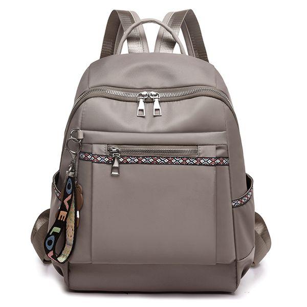 New Style Women Backpack Headphone Earphone Jack Hole Ladies Hot Sale Fashion big large capacity School Bags Student Girls Shoulder Backpack