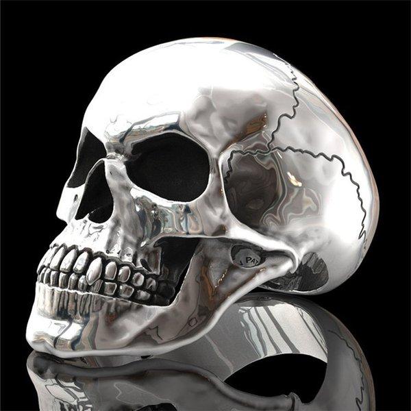 modello d'argento della testa del fantasma