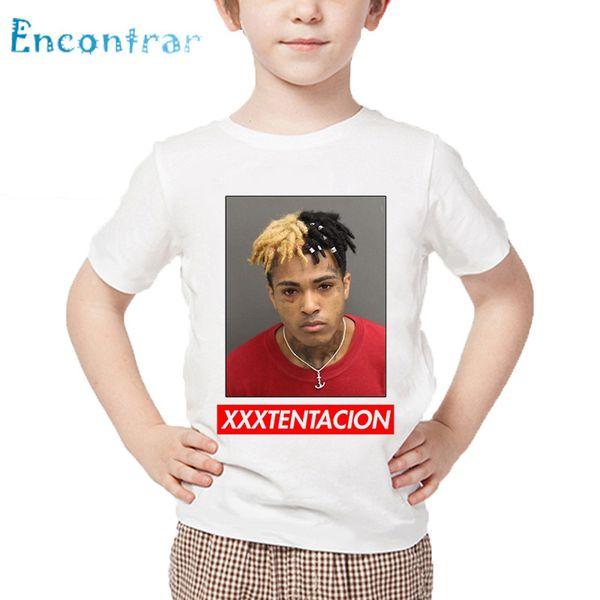 2019 Children Xxxtentacion Hip Hop Swag Fashion Design T Shirt Boys And  Girls Summer Short Sleeve Tops Kids Casual T Shirt,HKP2420 From Zerocold07,
