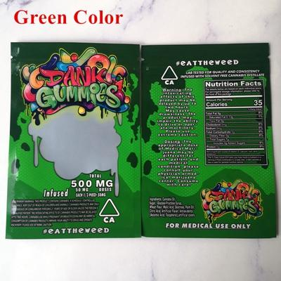 Dank Gummies green bags