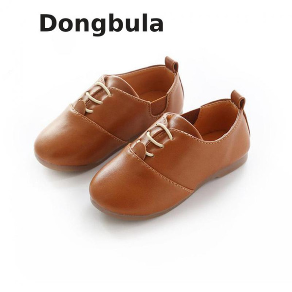 Crianças Casamento de couro Princesa Rapazes Raparigas planas Loafers Casual respirável Kids Shoes Shoes Primavera Escola de Verão Branco Preto