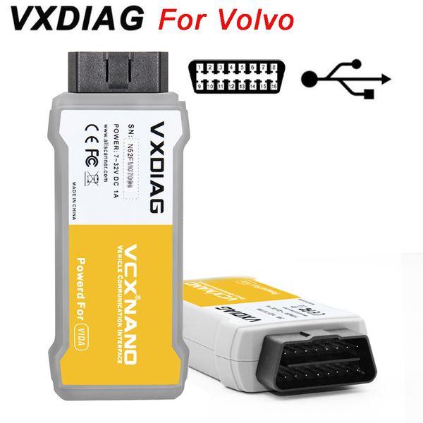 Scanner de NANO OBD OBD2 de NANO OBD2 d'outil de diagnostic de VXDIAG VCX original pour Volvo 2014D Vida