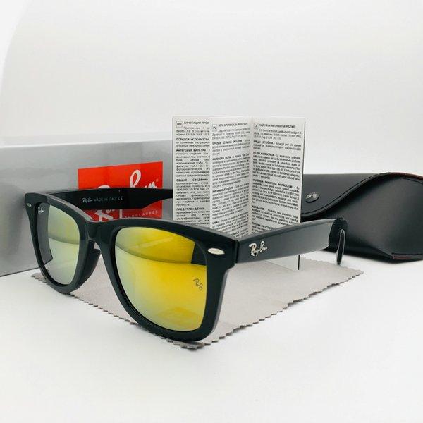 Wayfarer Classic 2140 Brand Designer Sunglasses For Men/Women Fashion Luxury Sun Glasses For Women UV400 High Quality Optical PC Lens