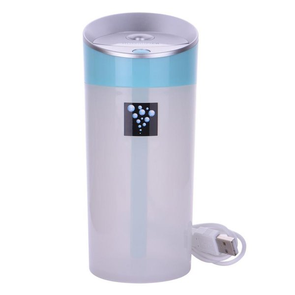 Car 300ml USB Mini Humidifier Cup Style Air Purifier Essential Oil Aroma Nebulizer Capacity Negative Ion