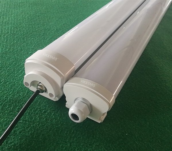 cost effective led tri-proof batten tube IP65 for car washing room/garage/tunnel led tri-proof batten tube 20W