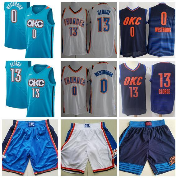 factory price 4466d 07e6e 2019 Men'S Oklahoma City 13 Paul George 0 Russell Westbrook Jersey 7  Carmelo Anthony 2018 New Basketball Jerseys Stitched Jerseys From  Dfdwddjersey7, ...
