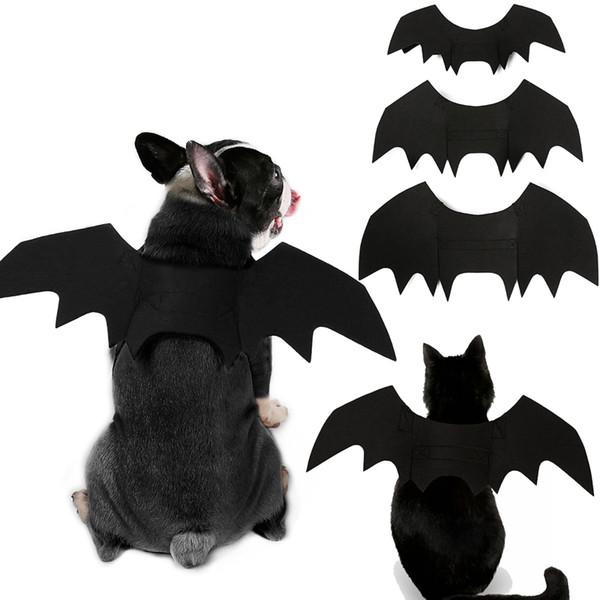 Halloween Haustier Fledermausflügel Kleine Große Hund Katze Fledermaus Kostüm Kleidung Haustier Zubehör Batman Cosplay Hund Kleidung