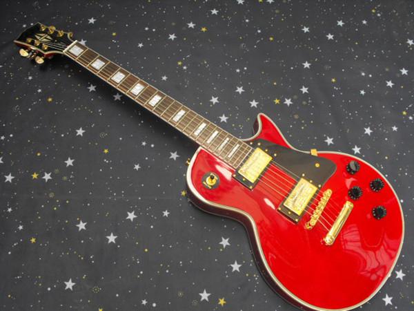 High-end de 6 cordas conjunto guitarra de uma peça pescoço G L P corpo de mogno feito sob encomenda da guitarra elétrica
