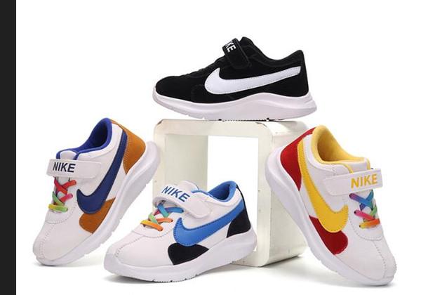 2019 chaud chaussures de sport pour enfants garçons filles espadrilles chaussures de course enfants formateurs de loisirs enfants respirant chaussures chaussures taille européenne: 25-35 F6