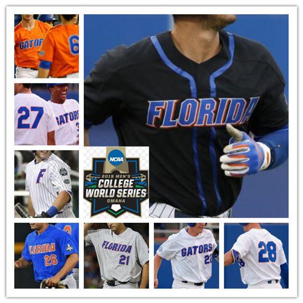 CWS cousu de maillots de maillots de baseball NCS Florida Florida