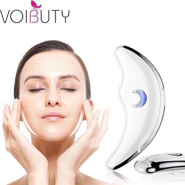 Microcurrent Guasha Massager Face Lifting Device Face Body Massage Anti-aging Skin Rejuvenation Machine Electirc Scraping Tool