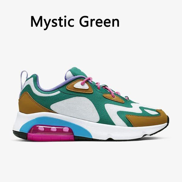 Мистический зеленый