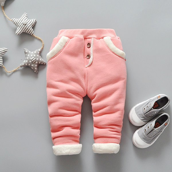 good quality 2019 New Baby Warm Pants Baby Boys Fleece Trousers Baby Girls Winter Pants Children Casual Trousers