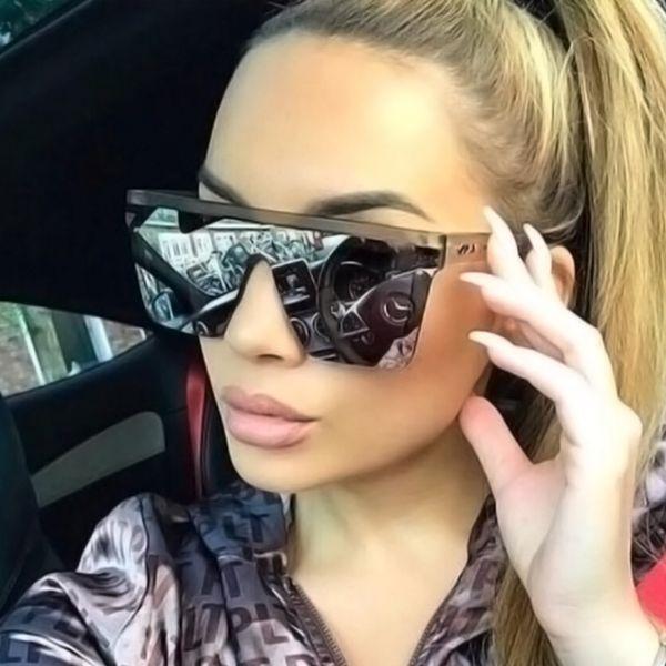 Moda büyük çerçeve güneş gözlüğü, erkek fil gri kişilik güneş gözlüğü, kadın açık plaj turist gözlük