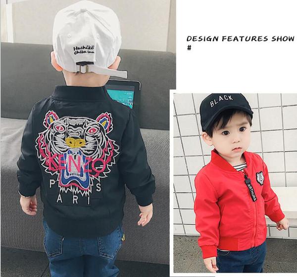 2019 neue frühling herbst jacke clothing baby jungen mantel cartoon gedruckt fliegerjacke herbst kinder oberbekleidung kinderkleidung