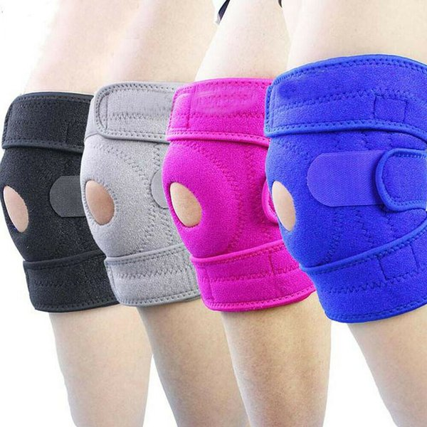 New Sport Elastic Knee Pad Wrap Support Brace Arthritis Injury Protector Knee